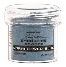 RANGER Embossing Powder -Cornflower Blue