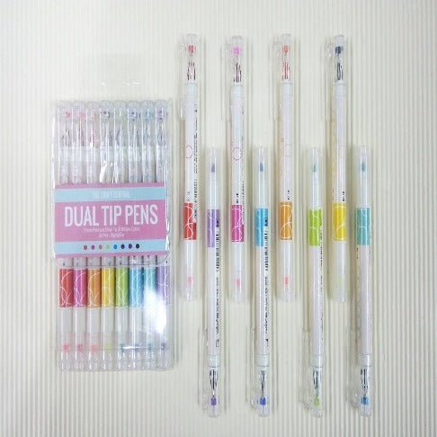 Dual Tip Pen Highlight Set