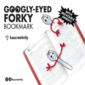 Googly Eyed Forky Bookmark