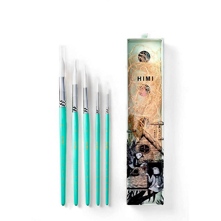 Miya Himi 5pc Little Bird Brush Set - The Craft Central