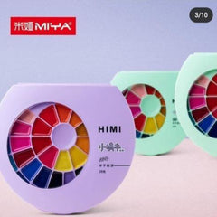 Miya Himi Semi Moist Watercolors
