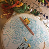 Wreath Embroidery Kit