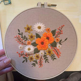 Flowers Embroidery Kit