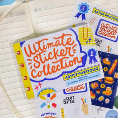 Ultimate Sticker Collection Sticker Book Pre-Selling