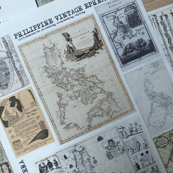 Pinoy Vintage Ephemera Bundle Pack
