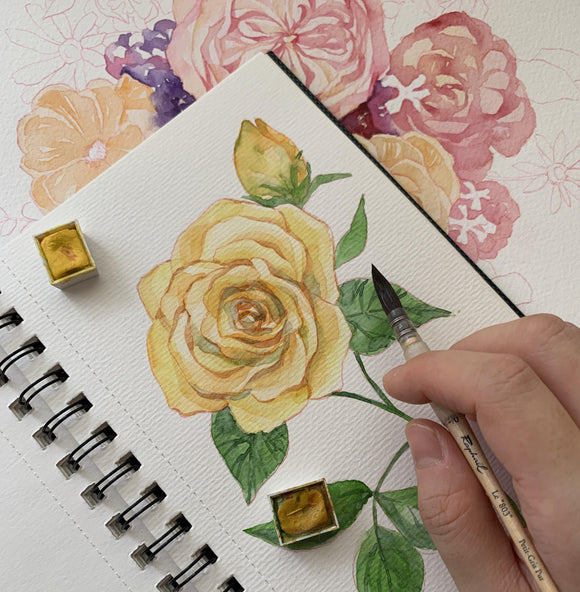 Online Workshop: Botanical Watercolor