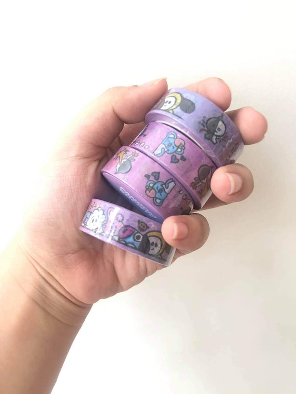 BTS Washi Tape - The Craft Central