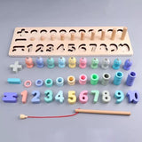 3 in 1 Wooden Math Play Set