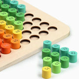 10x10 Wooden Multiplication Table
