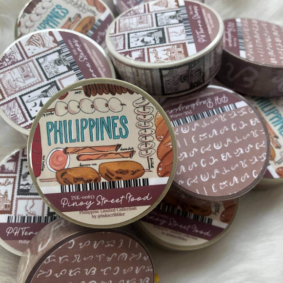 Pinoy Washi Tapes Batch 2 - The Craft Central