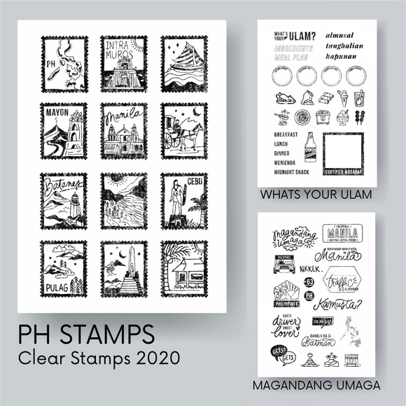 Pinoy Clear Stamps Batch 01 - The Craft Central