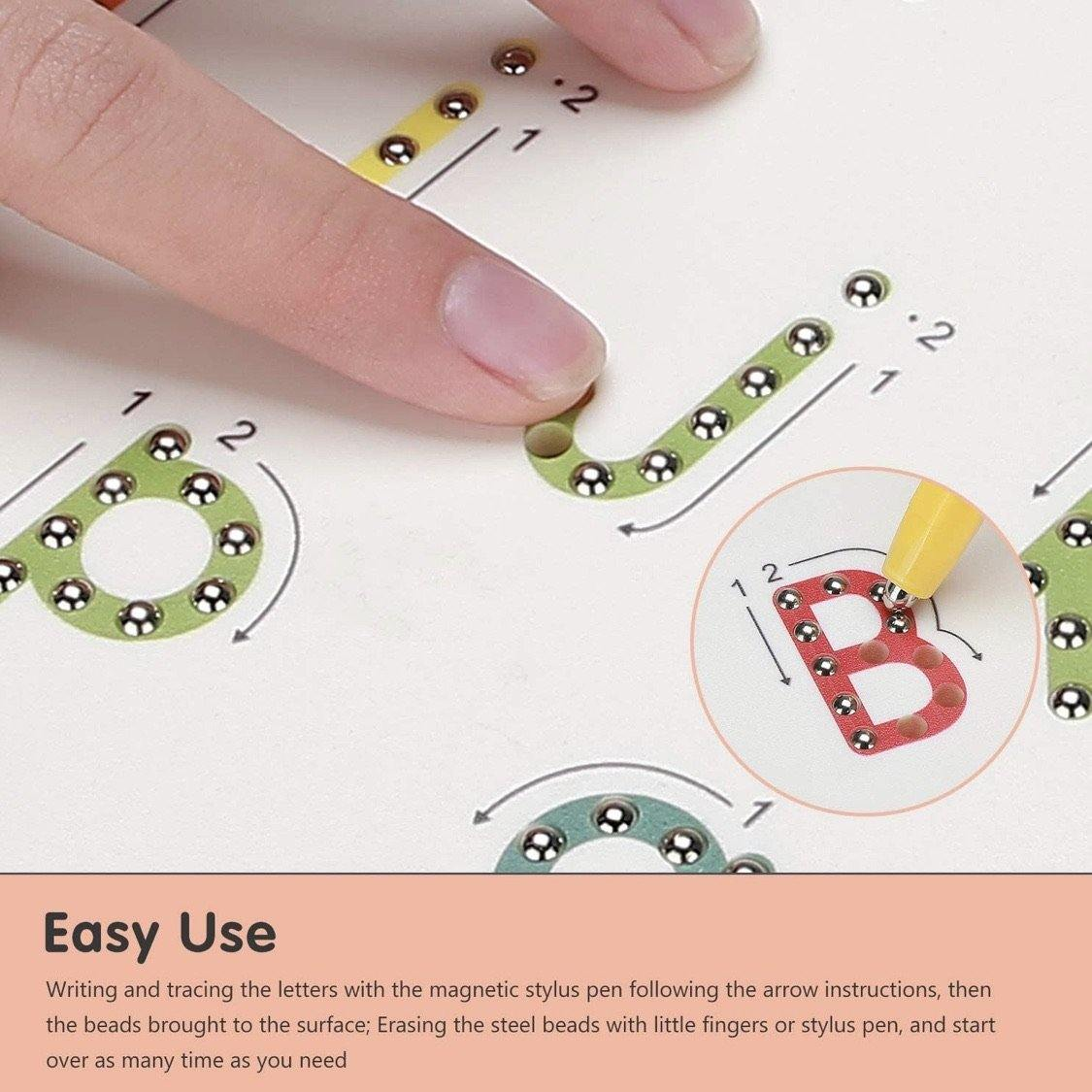 2in1 Alphabet Magnetic Tracing Pad - The Craft Central