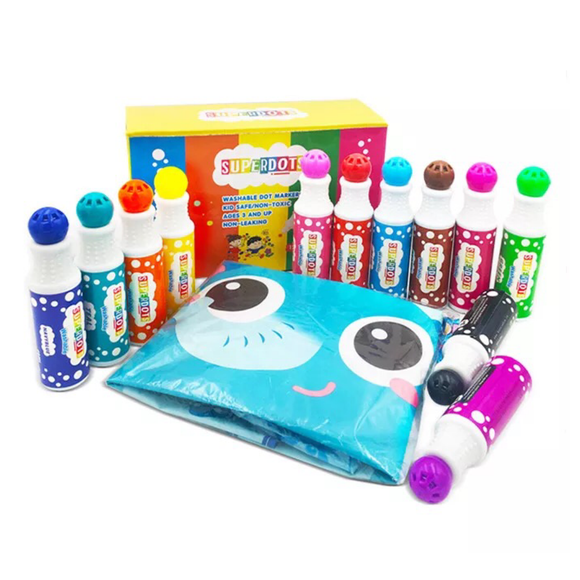 Superdots Dot Markers Set of 12