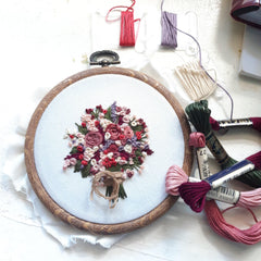 Online Workshop: Basic Embroidery
