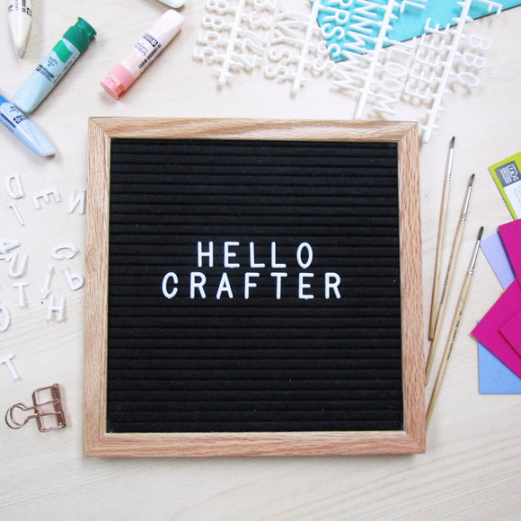 10x10 Felt Letter Board - The Craft Central