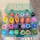 Himi Marker Pens 24 colors - The Craft Central