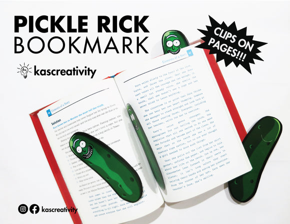 Pickle Rick Bookmark