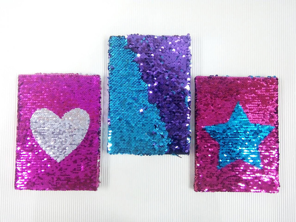 Sequins Notebook A5