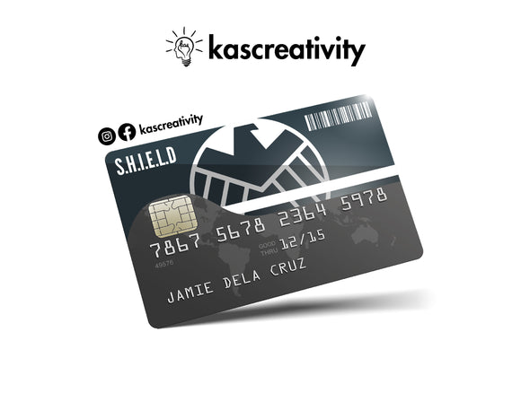 Shield - Bank Card Sticker