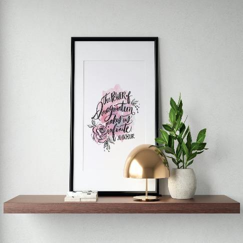The Power of Imagination Art Print - The Craft Central