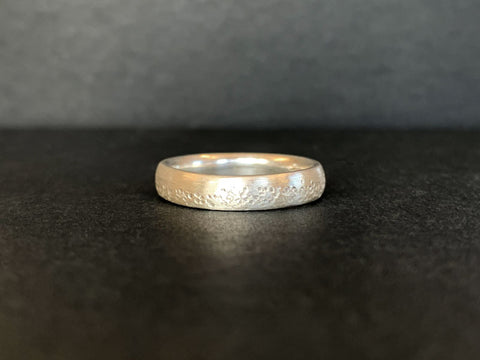 Silver Ring Made by Ellen | Silver Ring Workshop