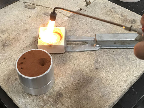 Sand casting workshop - Pod Jewellery