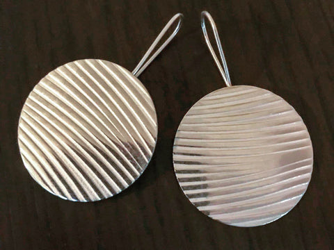 Embossed Silver Earrings | Half Day Silver Earring Making Workshop