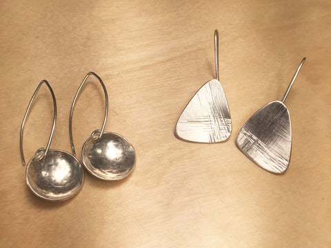 Silver Earring Making Workshop - Pod Jewellery