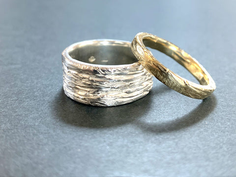 Lost Wax Gold and Silver Rings | Jewellery Courses | Pod Jewellery