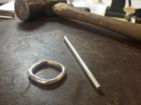 Silver Ring Making Workshop | Jewellery Courses | Jewellery Classes | Pod Jewellery