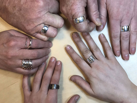 Silver Ring Making Workshop - Pod Jewellery