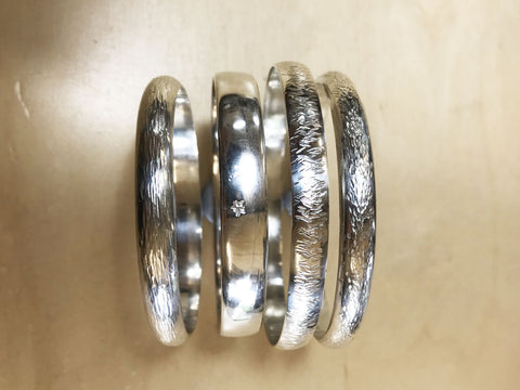 Silver Bangle Making Workshop | Jewellery Course | Pod Jewellery