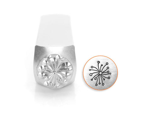 ImpressArt Dandelion (Large) Design Stamp, 9.5mm | Metal stamping