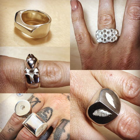 Lost Wax Ring Carving Workshop - $320