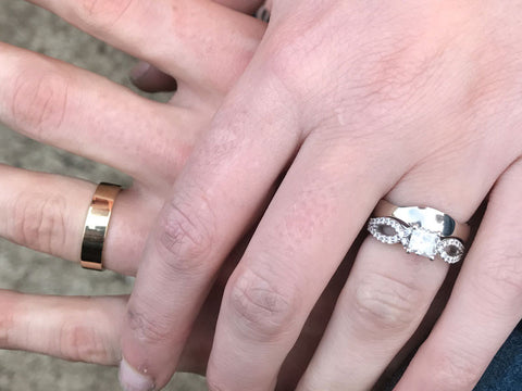 Combination Forged and Cast Wedding Ring Making Workshop - $850