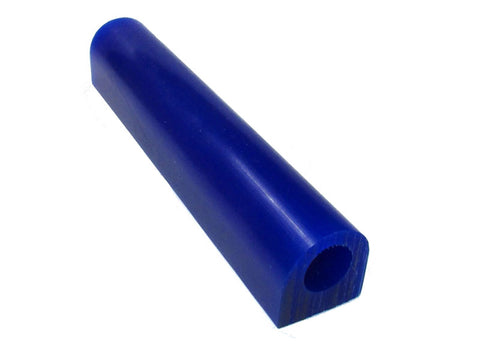 Matt Wax Ring Carving Tube with Flat Top Style A2 - Blue