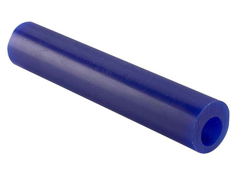 Matt Wax Ring Carving Tube with Round Off-Centre Hole Style B1 - Blue