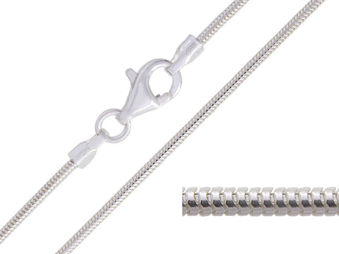 Sterling Silver Snake Chain - Pod Jewellery