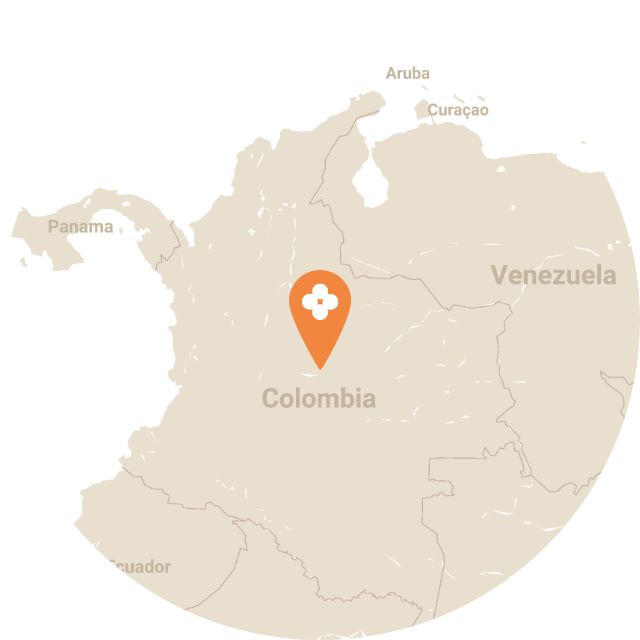 Map image of Colombia