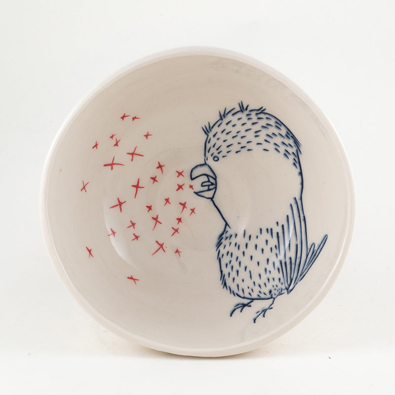 Bird Breathing X's Bowl (b-762)