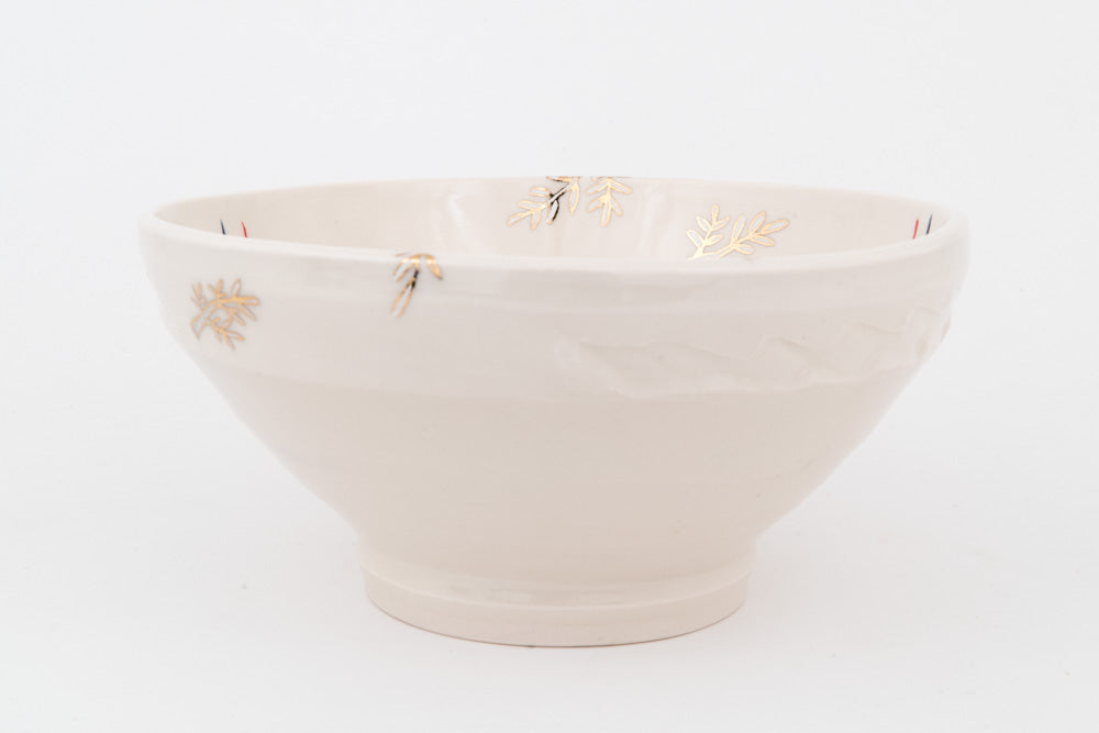 Dog and Branches Ramen Bowl (b-801)