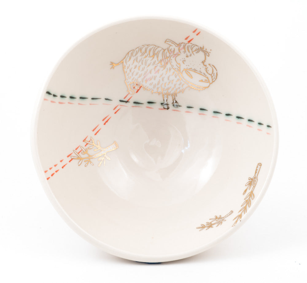 Warthog and Branches Ramen Bowl (b-807)