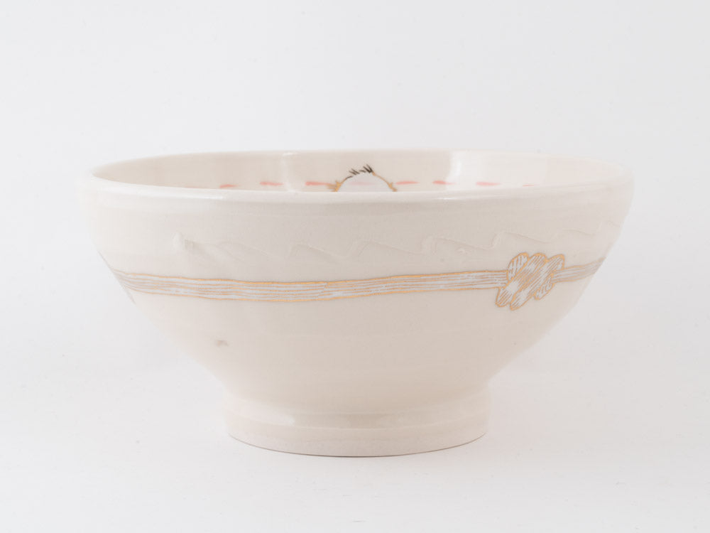 Bird and Knot Ramen Bowl (b-825)