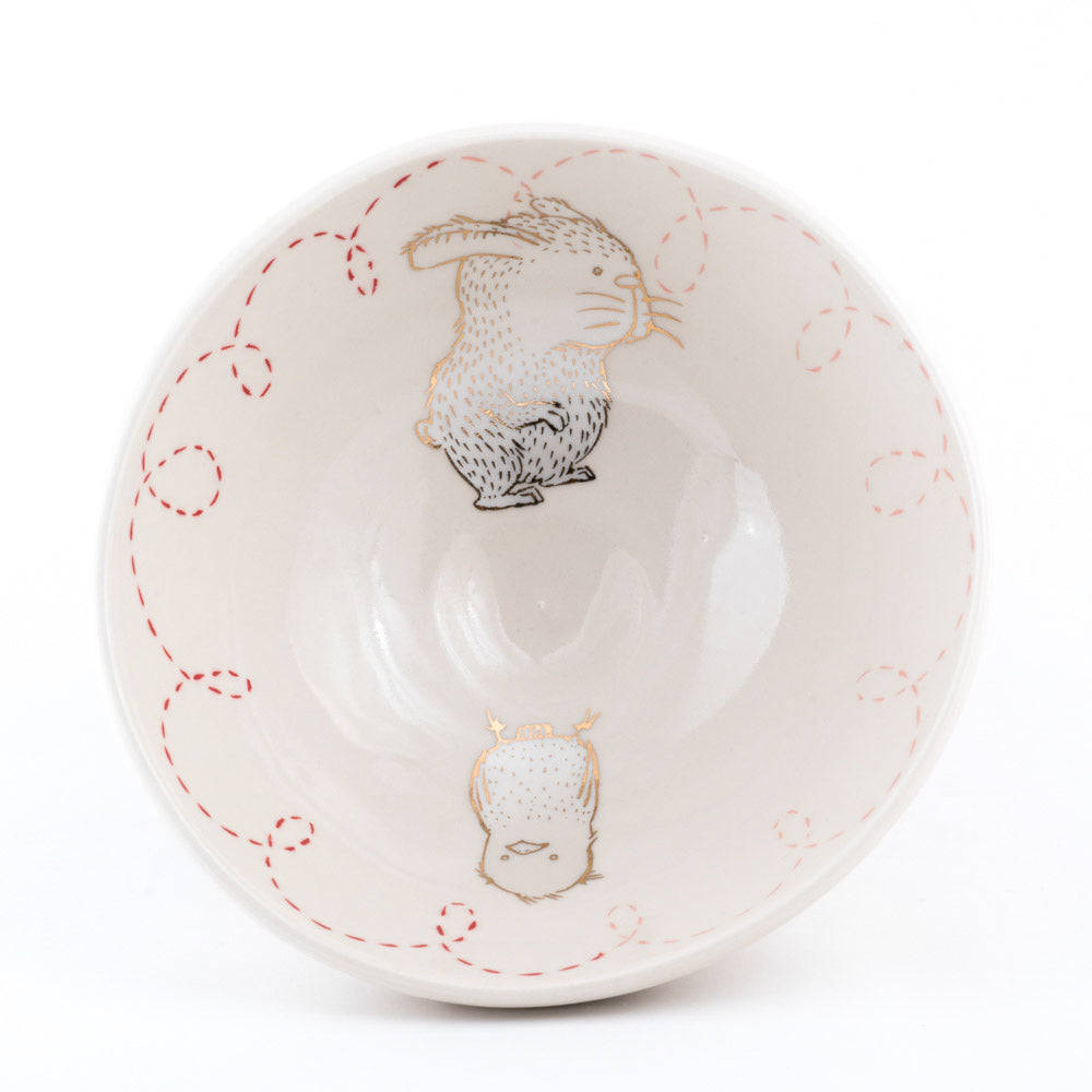 Bird and Rabbit Ramen Bowl (b-841)