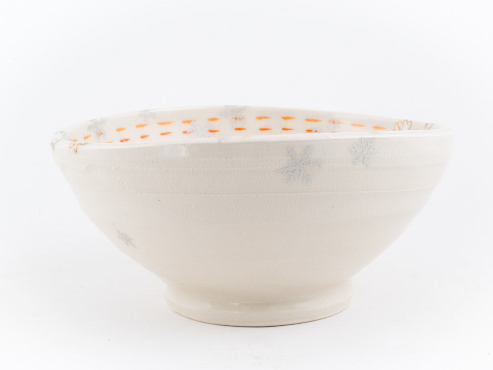 Reindeer in Snow Ramen Bowl (b-868)