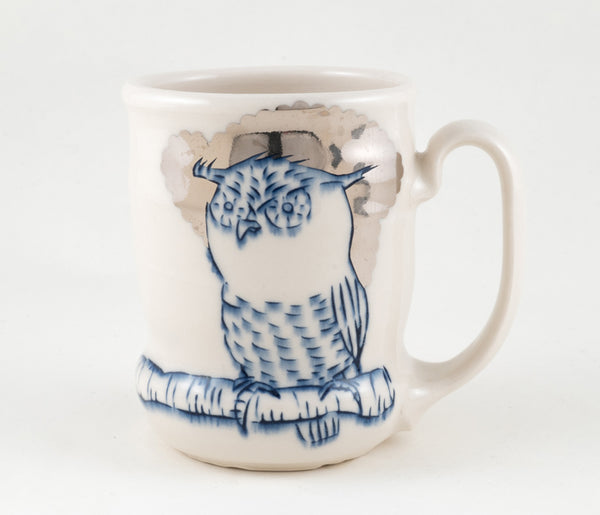 Owl on Branch Cup (c-2338) 16 fl oz