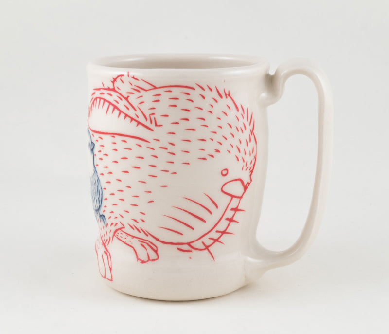 Rabbit and Birds Cup (c-2344) 18 fl oz