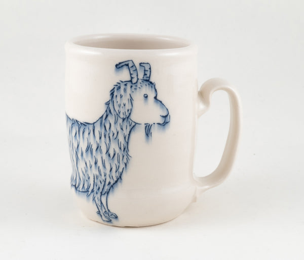 Goat and Bird with Branch Cup (c-2350) 20 fl oz