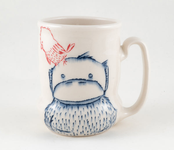 Monkey and Bird Cup (c-2352) 20 fl oz