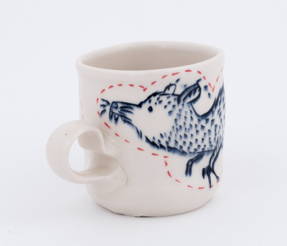 Shrew and House Cup (c-2373) 8 fl oz